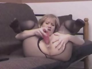Slutty Sammi Pantyhose Toy..