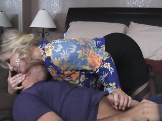 Hot Blonde Mommy Pussy Julia..
