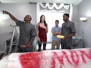 Painters With Big Black Cock..