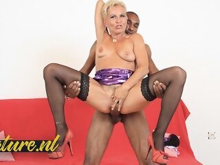 Blonde MILF Elenia is Always..