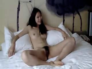 Cool hairy Chinese girl..