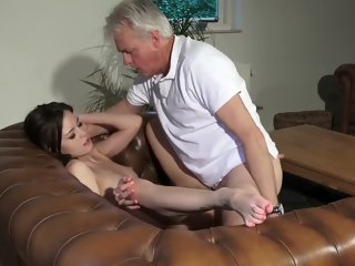 Innocent babe fucked by..