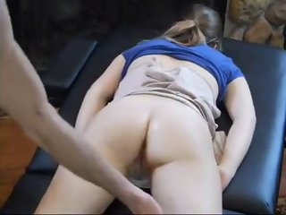 dad massaged and fucked not..