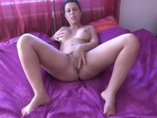 Busty Brunette Mom Takes..
