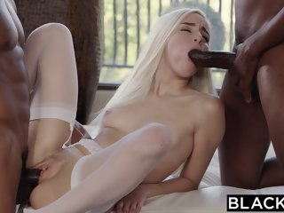 BLACKED First Interracial..